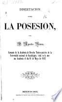 Disertación sobre la posesión