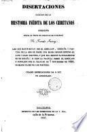 Disertaciones sacadas de la Historia inédita de los ceretanos compuesta por ... Tomás Junoy