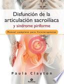 Disfunción de la articulación sacroilíaca y síndrome piriforme (Color)