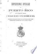 Disposiciones oficiales de Puerto Rico que abrazan desde 1 de Julio de 1872 a 31 de Diciembre de 1873