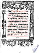 Disputa o controversia entre Barth. de las Casas ... y el doctor Gines de Sepulveda ... sobre las conquistas de las Indias