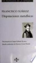 Disputaciones metafísicas