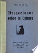 Divagaciones sobre la cultura