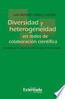 Diversidad y heterogeneidad en redes de colaboración científica