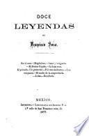 Doce leyendas de Francisco Sosa ...