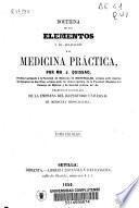 Doctrina de los elementos y su aplicación a la medicina práctica