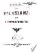 Doctrinal de historia crítica de España