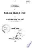 Doctrinal de psicología, lógica, y ética