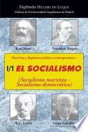 Doctrinas y regímenes políticos contemporáneos: I / 1. El Socialismo (Socialismo marxista-Socialismo democrático)