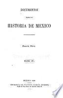 Documentos para la historia de Méjico