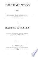 Documentos para un capítulo de la historia diplomática de Chile en su última guerra con España