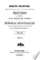 Documentos parlamentarios: 1857-1858