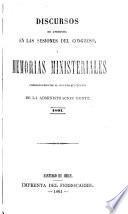 Documentos parlamentarios: 1861