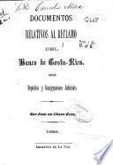 Documentos relativos al reclamo del Banco de Costa-Rica