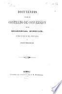 Documentos sobre el contrato de conversion de la moneda feble