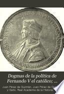Dogmas de la política de Fernando V el Católico