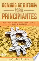 Dominio De Bitcoin Para Principiantes
