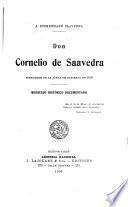 Don Cornelio de Saavedra, presidente de la junta de gobierno de 1810