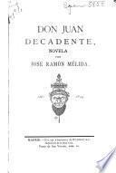Don Juan Decadente