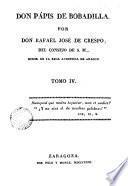 Don Pápis de Bobadilla, 4
