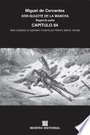 DON QUIJOTE DE LA MANCHA. CAPÍTULOS ESCOGIDOS. Segunda parte. Capítulo 64 (texto adaptado al castellano moderno por Antonio Gálvez Alcaide)