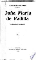 Doña María de Padilla