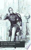 Dos perlas literarias del célebre Mr. Adolfo de Lamartine