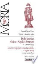 Dudas históricas relativas a Napoleón Bonaparte; De cómo Napoleón nunca ha existido o la gran errata