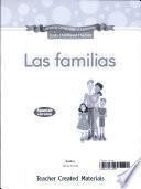 Early Childhood Themes: Las familias (Families) Kit (Spanish Version)
