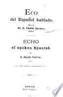 Eco del español hablado ...