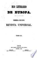 Eco literario de Europa