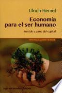 Economía para el ser humano