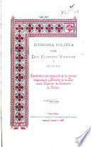 Economìa polìtica