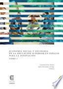 Economía social y solidaria en la educación superior: un espacio para la innovación (Tomo 3)