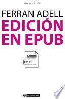 Edición en epub