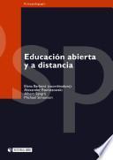 Educación abierta y a distancia