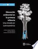 Educación ambiental en la primera infancia