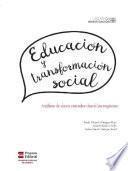 Educación y transformación social. Análisis de datos censales desde las regiones