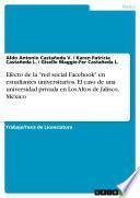 Efecto de la red social Facebook en estudiantes universitarios. El caso de una universidad privada en Los Altos de Jalisco, México