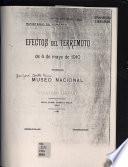 Efectos del terremoto de 4 de mayo de 1910