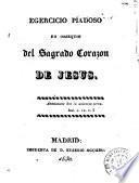 Egercicio piadoso en obsequio del Sagrado Corazon de Jesus