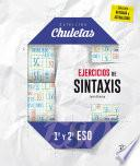 Ejercicios de sintaxis 1o y 2o para la ESO