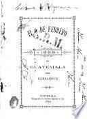 El 9 de febrero de 1898 en Guatemala