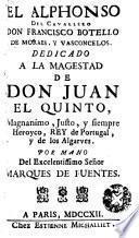 El Alphonso del Cavallero Don Francisco Botello de Moraes y Vasconcelos