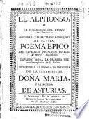 El Alphonso o La Fundación del Reino de Portugal, assegurada y perfecta en la conquista de Elysia