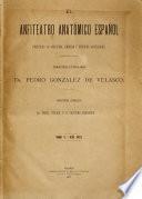 ¬El anfiteatro anatómico español