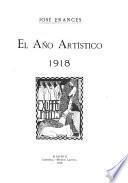 El año artístico, 1915-[1926]
