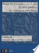 El arte poética en romance castellano