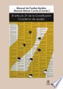 El artículo 27 de la Constitución