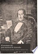 El asesinato del gran mariscal de Ayacucho
